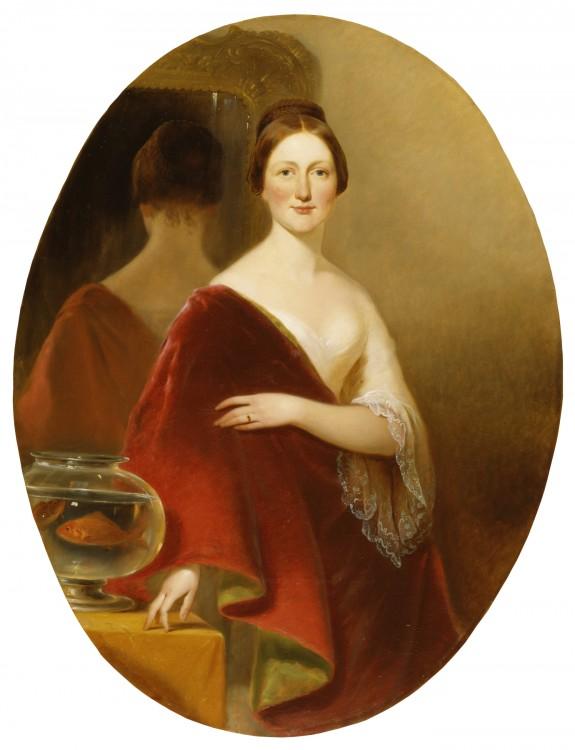 Portrait of Mrs. Decatur Howard Miller (Eliza Credilla Hare)