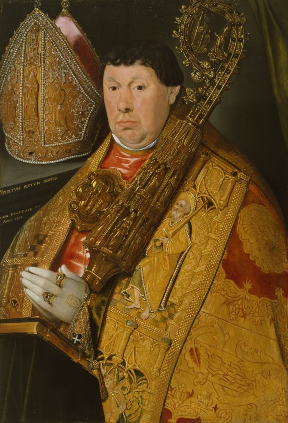 Portrait of Abbot Nicholas à Spira