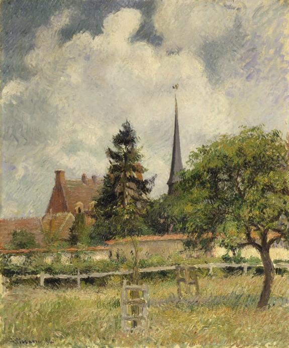 The Church at Eragny