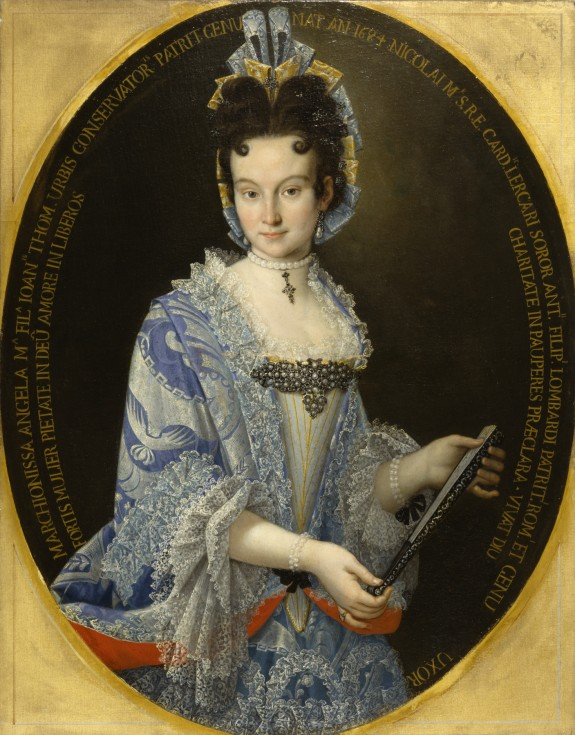 Portrait of the Marchioness Angela Maria Lombardi