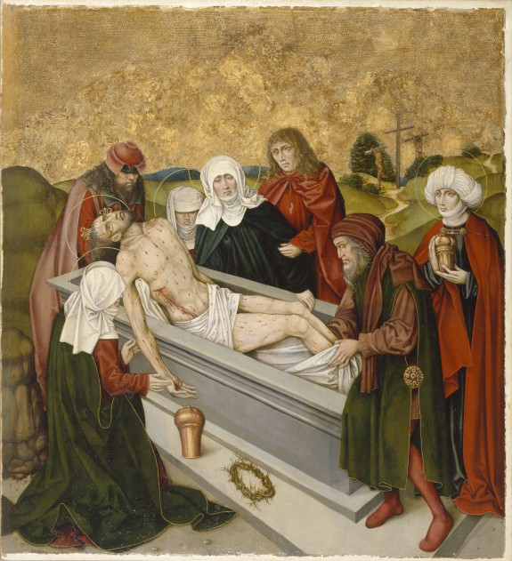 Altarpiece with the Passion of Christ: Entombment