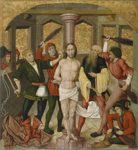 Altarpiece with the Passion of Christ: Flagellation