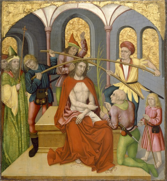 Altarpiece with the Passion of Christ: Christ Mocked