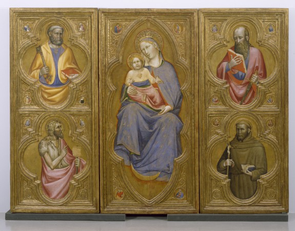 Altarpiece with the Virgin and Child with Saints