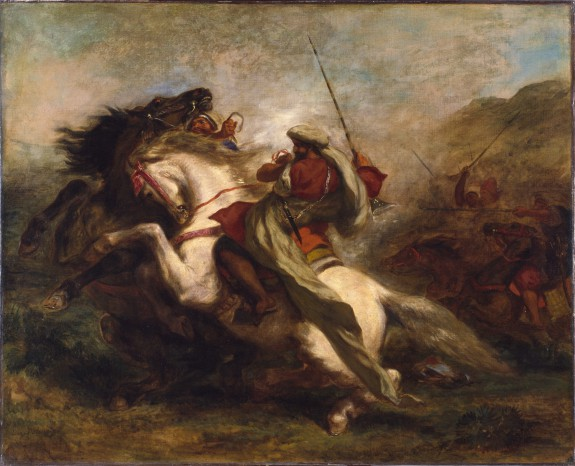 Collision of the Moorish Horsemen