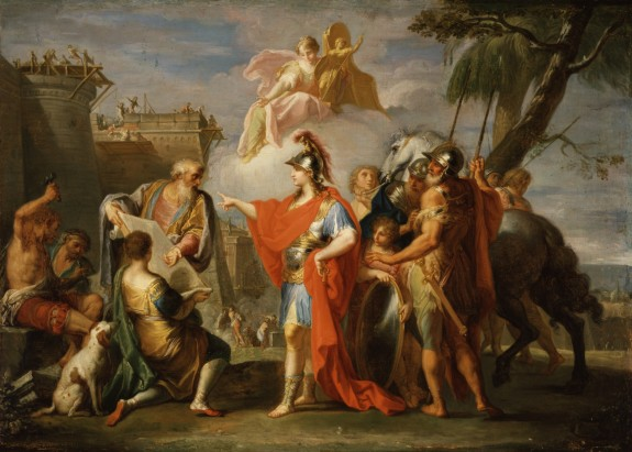 Alexander the Great Founding Alexandria
