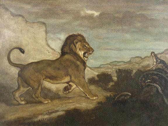 Lion and Python