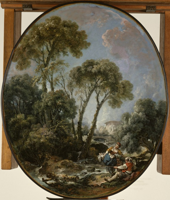 Landscape with Fisherman and a Young Woman