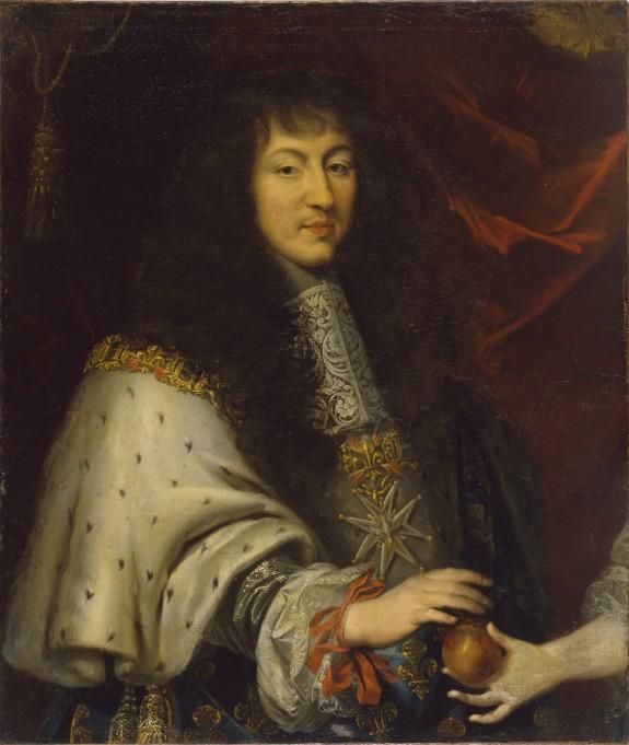 Half-length Portrait of Louis XIV (1638-1715)