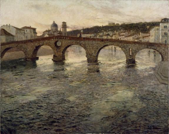 The Adige River at Verona