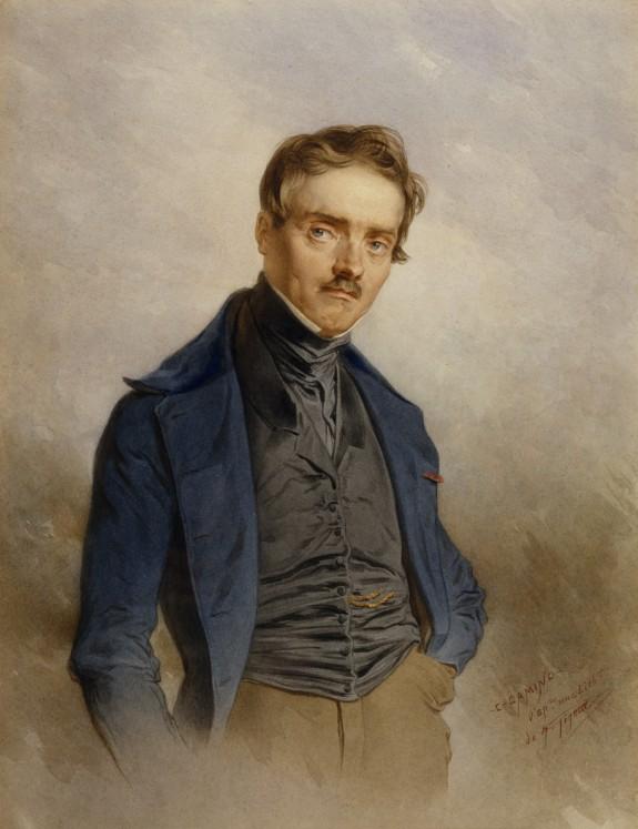 Portrait of A. L. Barye
