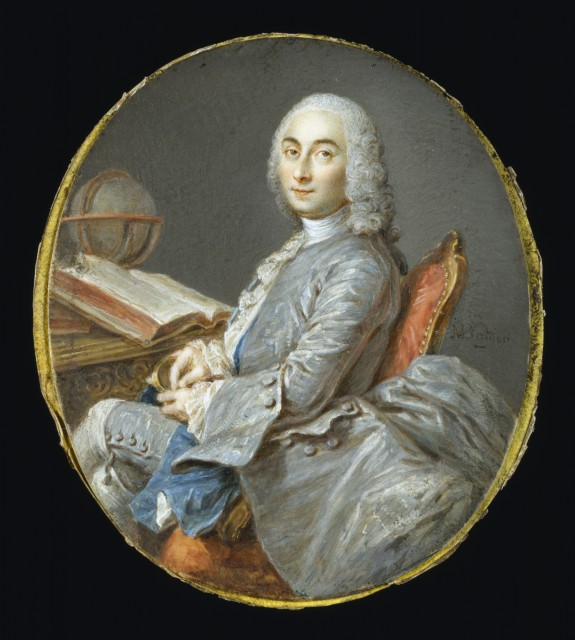 Miniature Portrait of César François Cassini de Thury