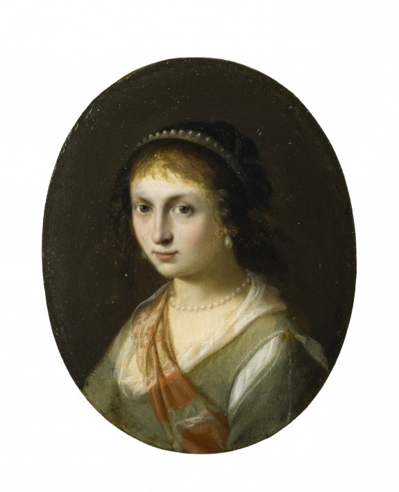 Portrait of Susanna van Collen