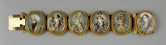Bracelet with Portrait Miniatures