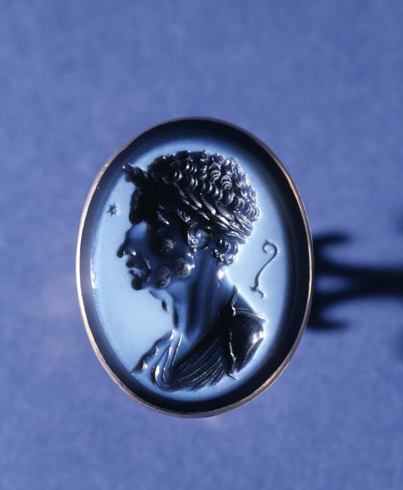 Intaglio Portrait of Julius Caesar