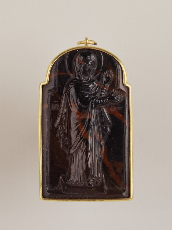 Cameo of the Virgin