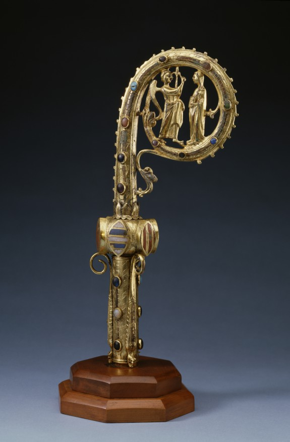 Crozier with the Annunciation