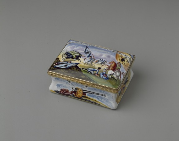 Snuffbox with the Battle of Kunersdorf
