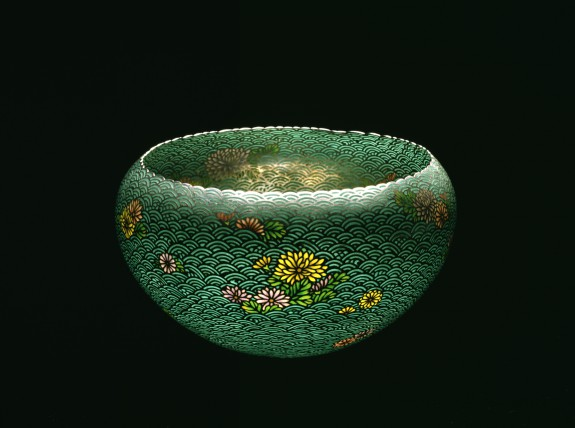 Bowl with Chrysanthemum Blossoms
