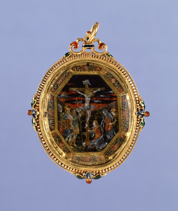 Pendant with the Crucifixation