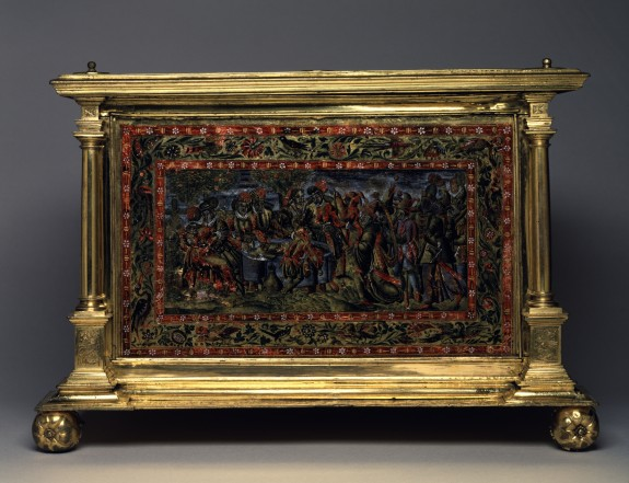 Casket with the Story of the Prodigal Son