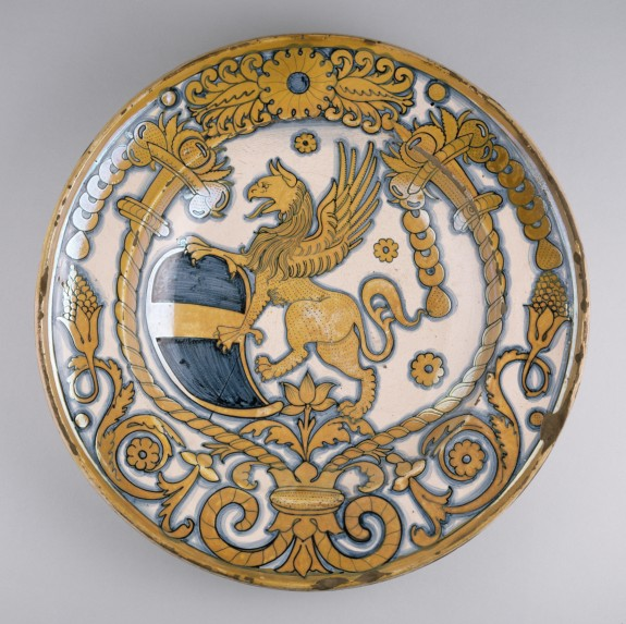 Dish with Coat of Arms of Bishop Baglioni