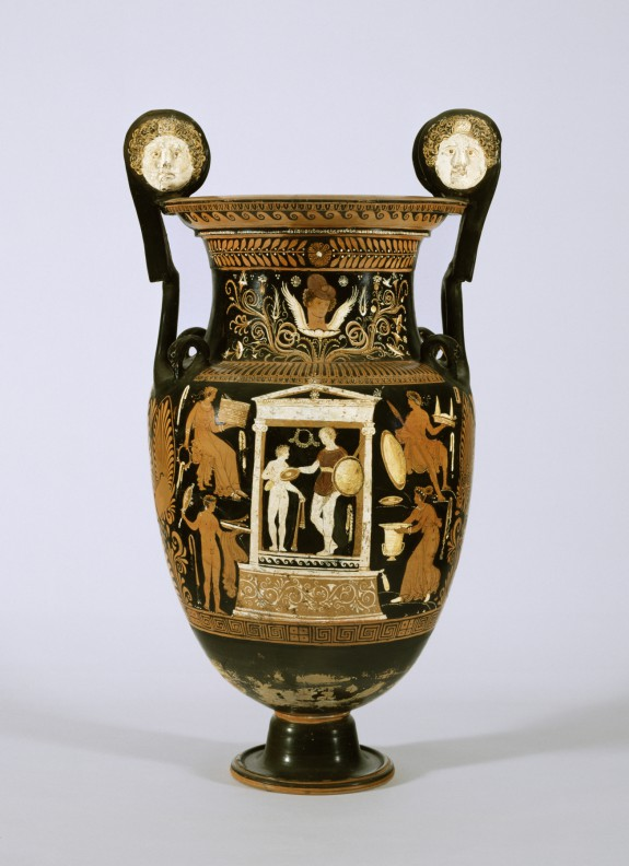 Volute Krater For A Deceased Warrior The Walters Art Museum