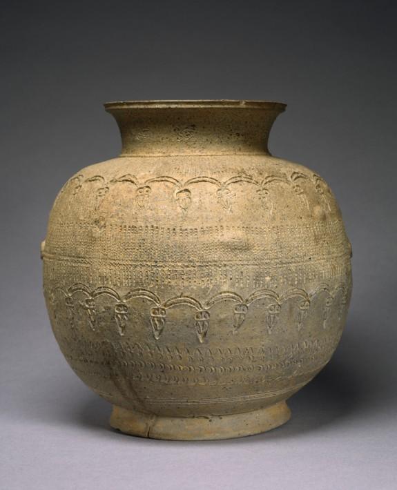 Stamped Jar