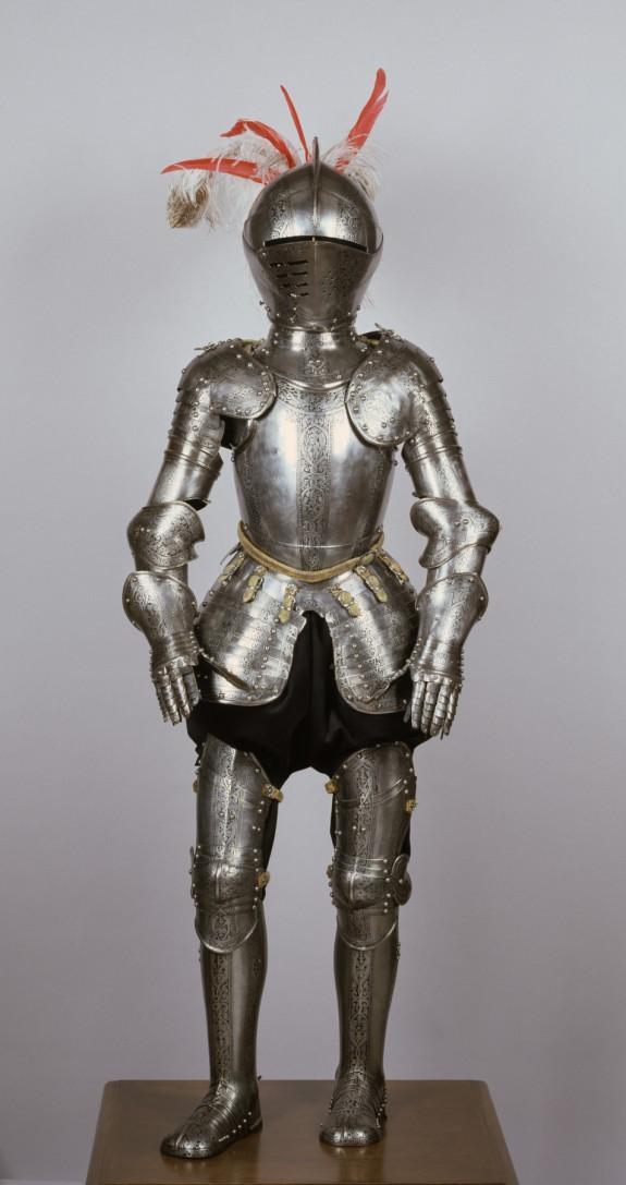 Composite Armor for a Boy