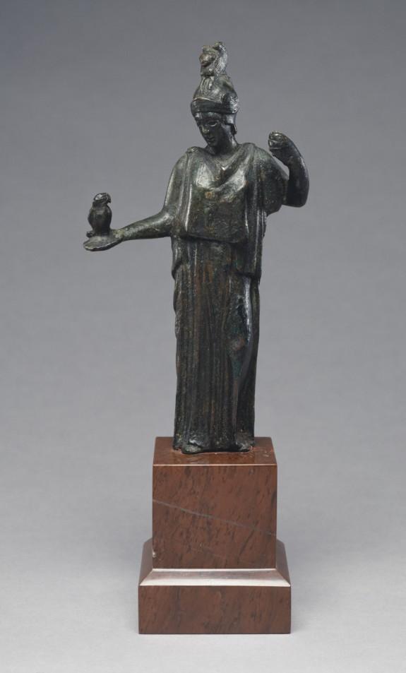 Athena with an Owl