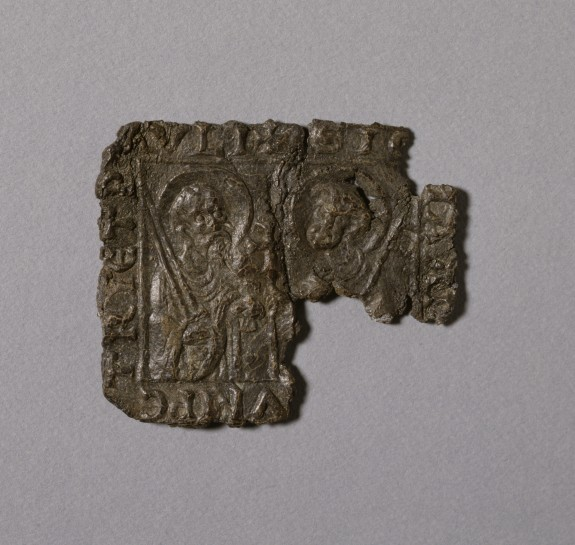 Pilgrim's Badge with Saints Peter and Paul