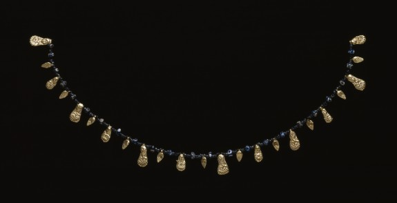 Necklace with Relief Pendants