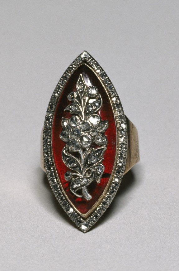 Ring with Floral Motif