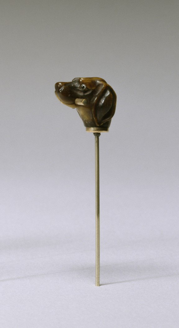 Stick Pin with Hound's Head