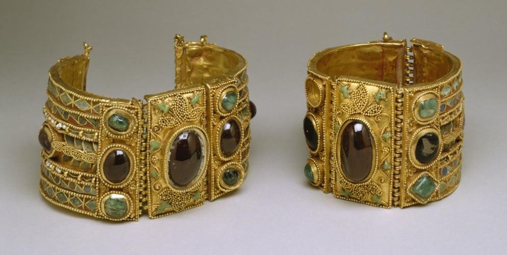 Bracelets from the Olbia Treasure