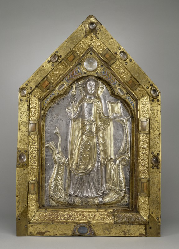 Reliquary Panel of the Triumphant Christ