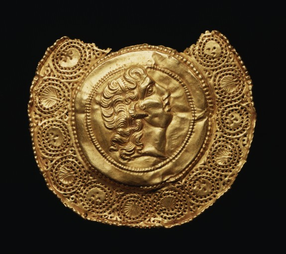 Pendant with Portrait of Alexander the Great