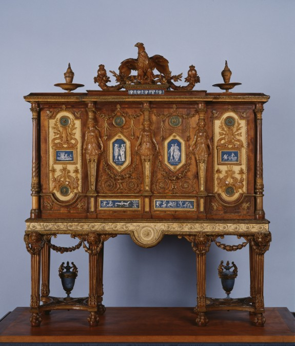 Model For A Royal Jewel Cabinet