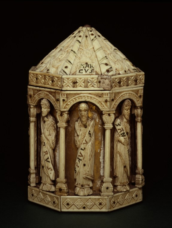 Reliquary with Apostles