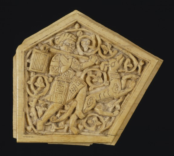 Plaque with Figural Scene