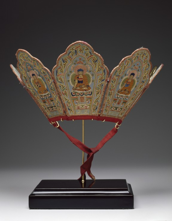Ritual Diadem with Five Buddhas