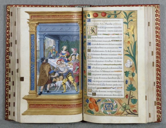 Leaf from Book of Hours