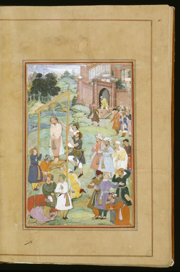 The Hanging of Mansur al-Hallaj