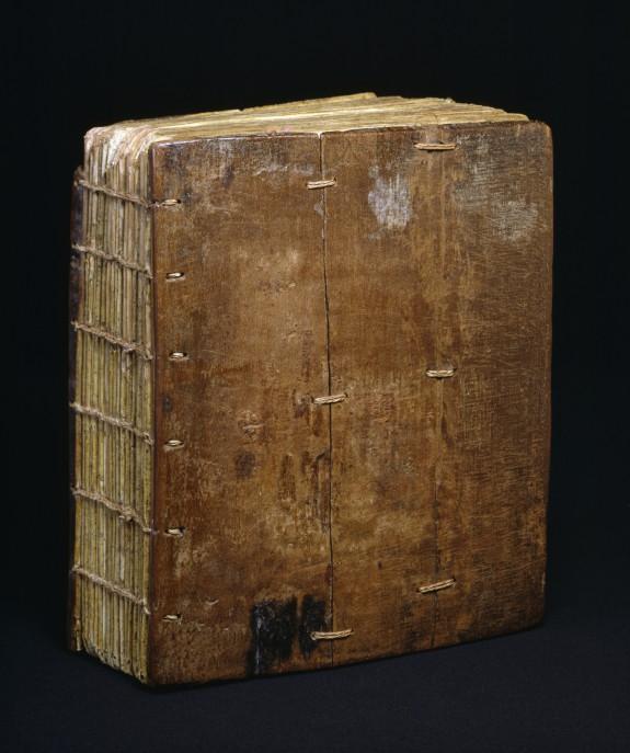 Binding from Ethiopian Gospels