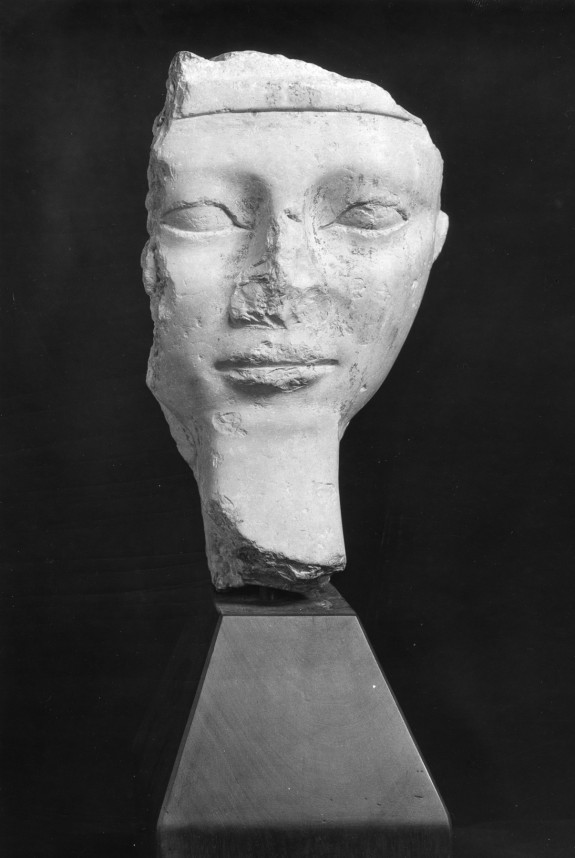 Male Face from a Sarcophagus