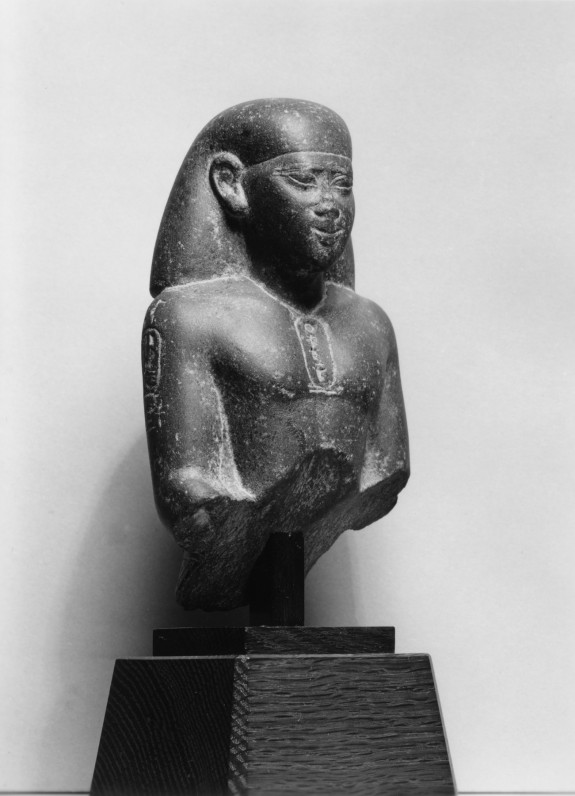 Head and Torso of a Seated Man