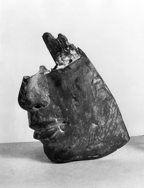 Fragment of a Face from a Relief