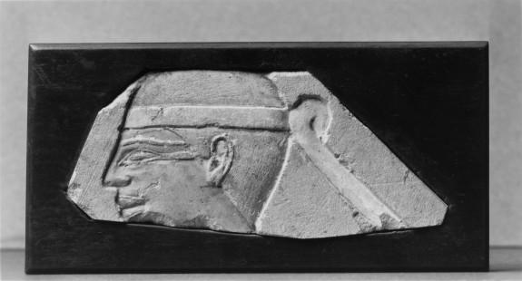 Wall Fragment (?) with Djeryt Figure