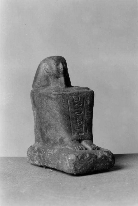 Miniature Block Statue