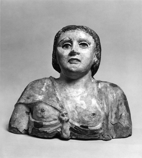 Head and Bust of a Woman